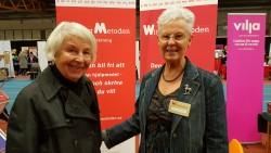 Anita Hjälme och Noomi Sjöstedt
