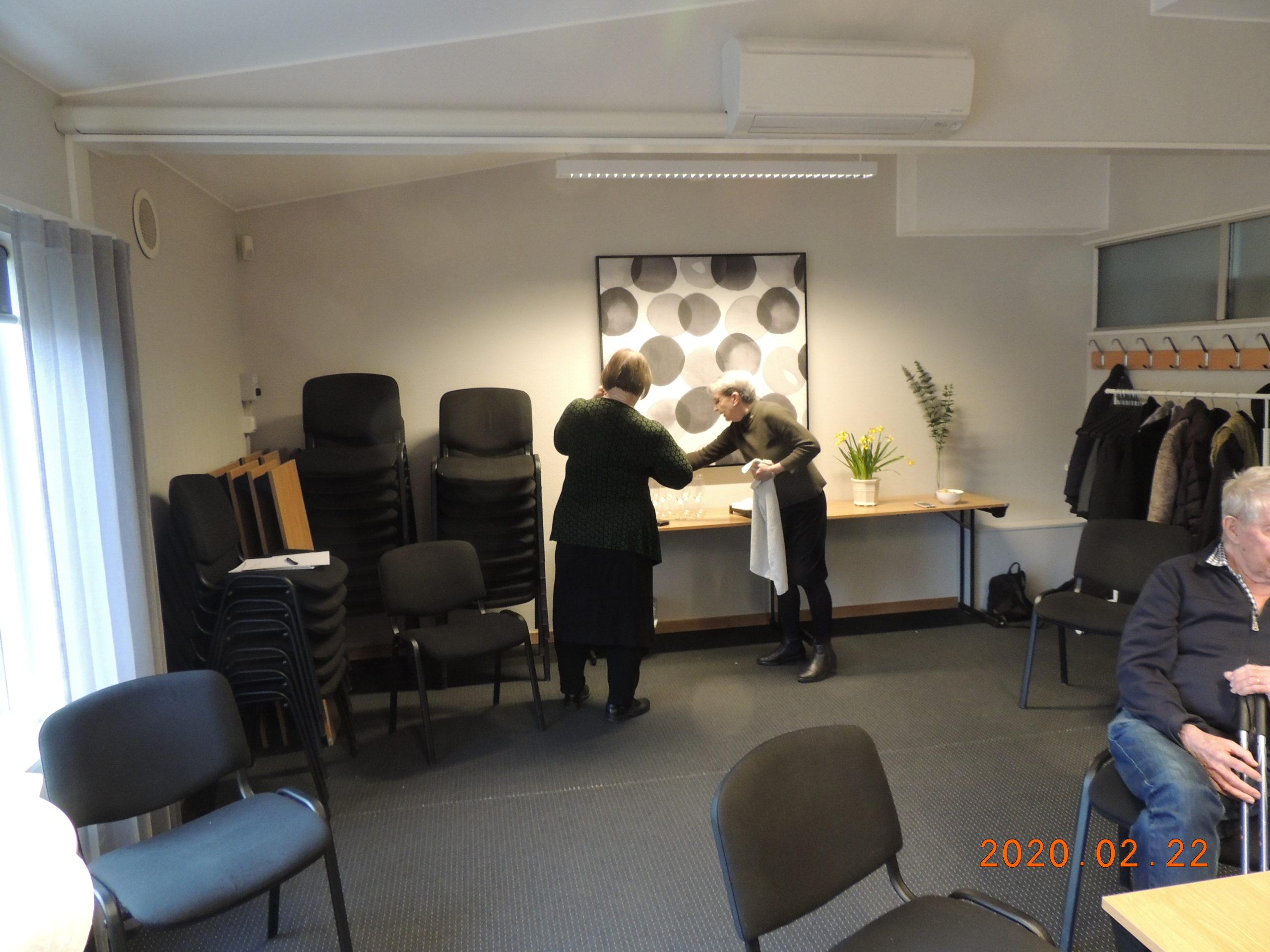 4 Mingel förbereds av Anna och Kerstin